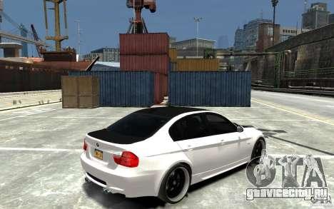 BMW 330i E60 Tuned 2 для GTA 4 вид справа
