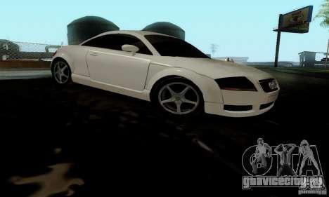 Audi TT для GTA San Andreas вид справа