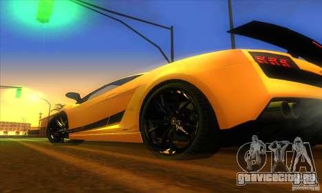 ENB Graphics by KINOman для GTA San Andreas седьмой скриншот