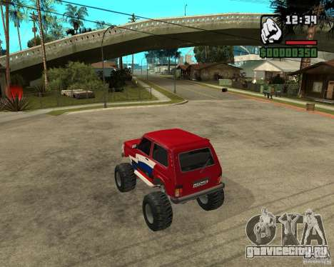 VAZ-21213 4x4 Monster для GTA San Andreas вид справа