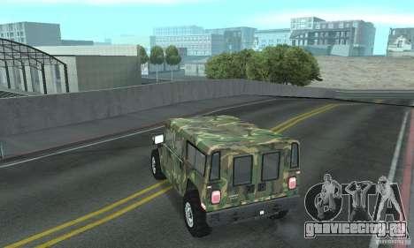 Hummer H1 для GTA San Andreas колёса