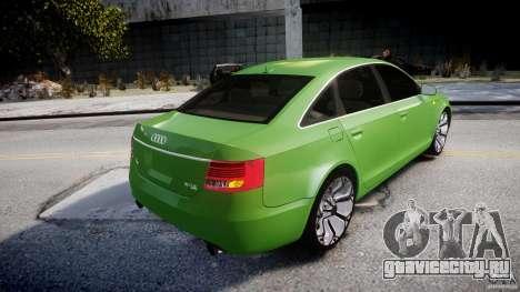 Audi A6 TDI 3.0 для GTA 4 вид снизу