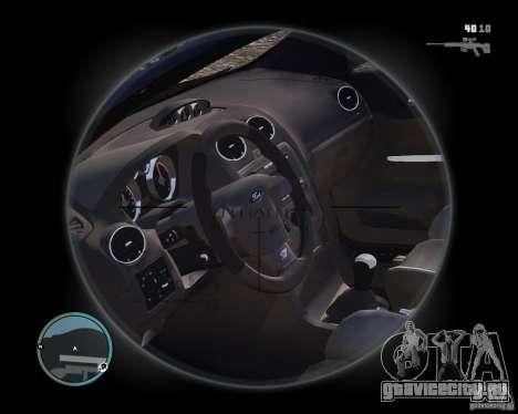 Ford Focus ST 2006 v1.1 для GTA 4 вид справа