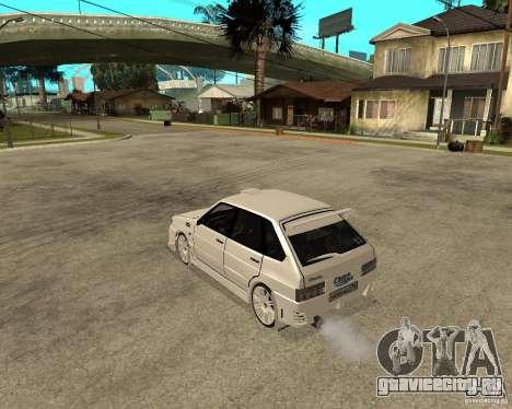 ВАЗ 2114 Меченный для GTA San Andreas вид слева