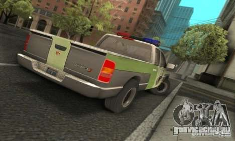 Dodge Ram 1500 POLICE 2008 для GTA San Andreas