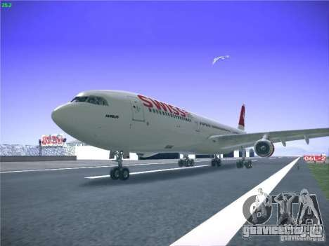 Airbus A340-300 Swiss International Airlines для GTA San Andreas