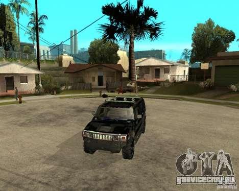 FBI Hummer H2 для GTA San Andreas