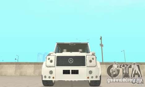 Mercedes-Benz G500 Zailer 2004 для GTA San Andreas вид изнутри