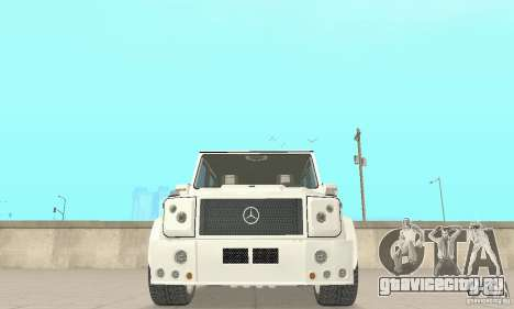 Mercedes-Benz G500 Zailer 2004 для GTA San Andreas