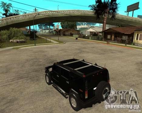 AMG H2 HUMMER SUV FBI для GTA San Andreas
