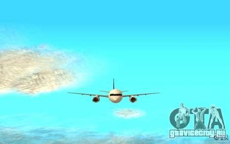 Boeing 757-200 для GTA San Andreas вид сзади слева
