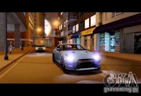 Real World ENBSeries v5.0 Final для GTA San Andreas второй скриншот