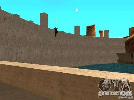 Новые текстуры для дамбы для GTA San Andreas