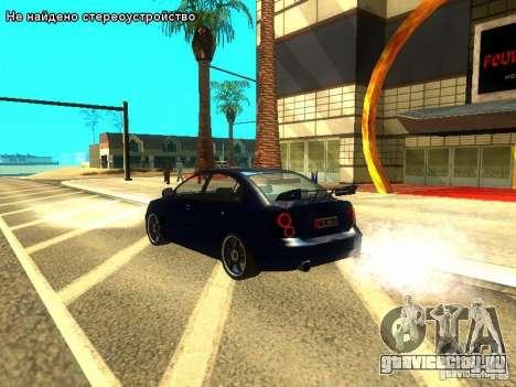 Hyundai Accent Era для GTA San Andreas вид изнутри