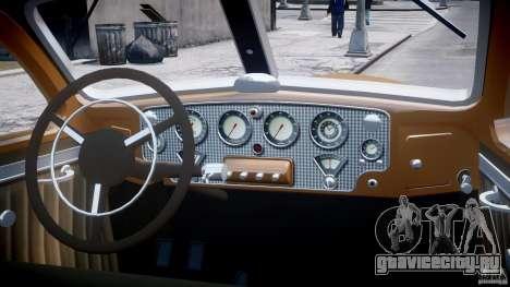 Cord 812 Charged Beverly Sedan 1937 для GTA 4 вид сверху
