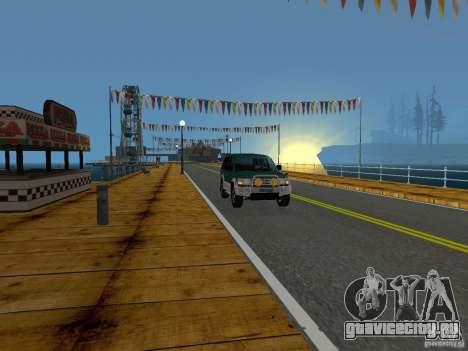 Новые текстуры пляжа v2.0 для GTA San Andreas десятый скриншот