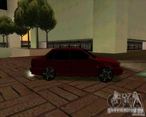Ваз-2115 для GTA San Andreas вид справа