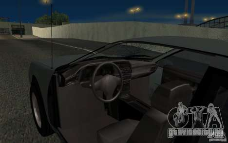 Ford Thunderbird 1993 для GTA San Andreas вид сверху