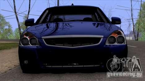 ВАЗ 2170 Lada Priora для GTA San Andreas вид справа