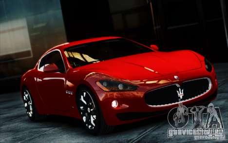 Maserati Gran Turismo S 2009 для GTA 4 вид сзади