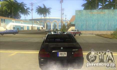 BMW 325i E46 v2.0 для GTA San Andreas вид справа
