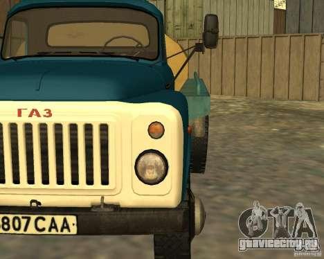 ГАЗ 53-12 АЦПТ-3 для GTA San Andreas вид сзади
