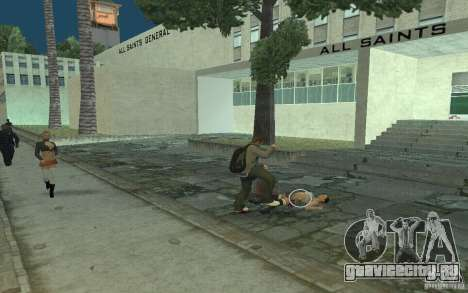 Анимации из GTA IV для GTA San Andreas восьмой скриншот