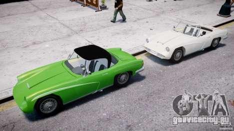 FSO Syrena Sport 1960 для GTA 4 вид снизу