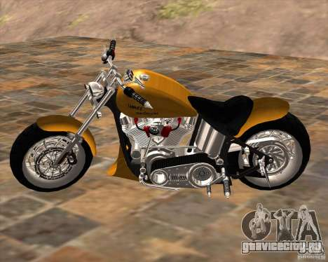 Race chopper by DMC для GTA San Andreas вид слева