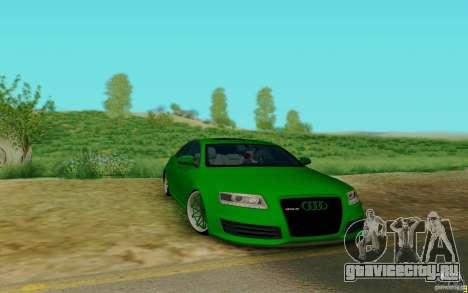 Audi RS6 OTIS для GTA San Andreas вид слева