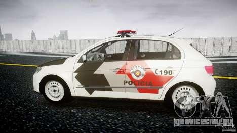 Volkswagen Gol G5 PMSP [ELS] для GTA 4 вид слева