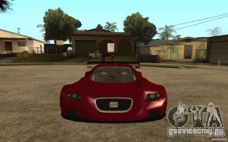 Seat Cupra GT для GTA San Andreas вид справа