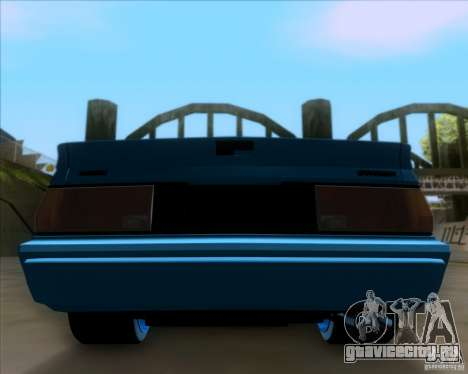Mitsubishi Starion для GTA San Andreas вид сбоку