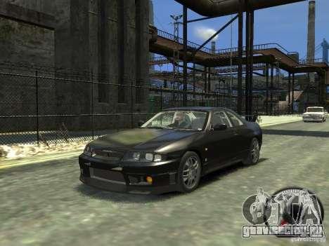 Nissan Skyline GT-R V-Spec (R33) 1997 для GTA 4