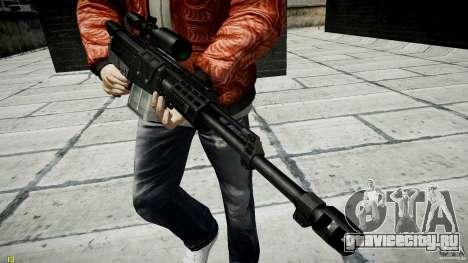 Accuracy International AS50 для GTA 4 седьмой скриншот