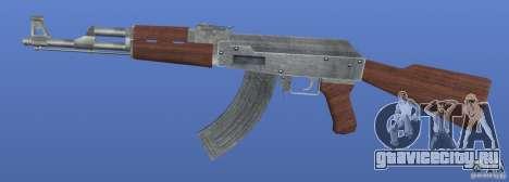 AK47 Retex 1.1 Chrome для GTA 4 третий скриншот