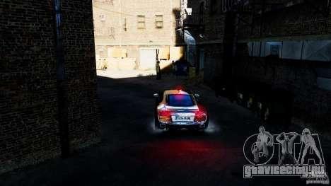 Audi R8 Spider 2011 для GTA 4 вид изнутри