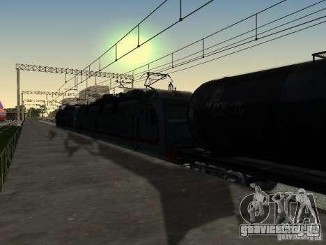 ЭП1М для GTA San Andreas вид сзади