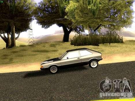 Volkswagen Scirocco Mk1 для GTA San Andreas вид слева