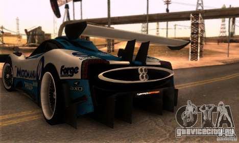 Pagani Zonda R для GTA San Andreas вид справа