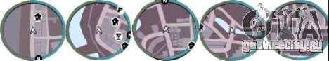 Радар из GTA IV для GTA Vice City