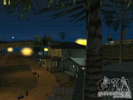 GTA SA IV Los Santos Re-Textured Ciy для GTA San Andreas шестой скриншот