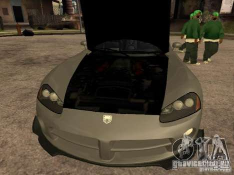 Dodge Viper для GTA San Andreas вид справа
