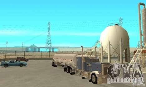 Peterbilt 379 Custom And Tanker Trailer для GTA San Andreas