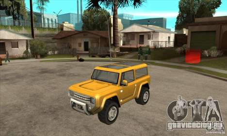 Ford Bronco Concept для GTA San Andreas