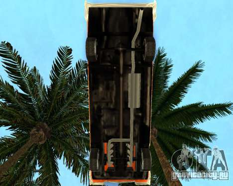 Plymouth Belvedere для GTA San Andreas вид сзади слева
