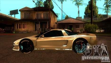 Honda NSX Extreme для GTA San Andreas вид слева