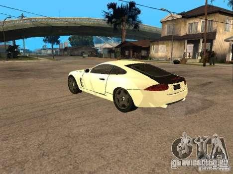 Jaguar XK для GTA San Andreas вид слева