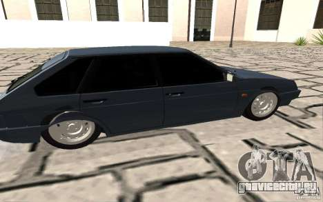 ВАЗ 2109 v.2 для GTA San Andreas вид слева