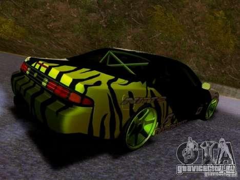 Nissan Silvia S14 Matt Powers v3 для GTA San Andreas вид сзади слева